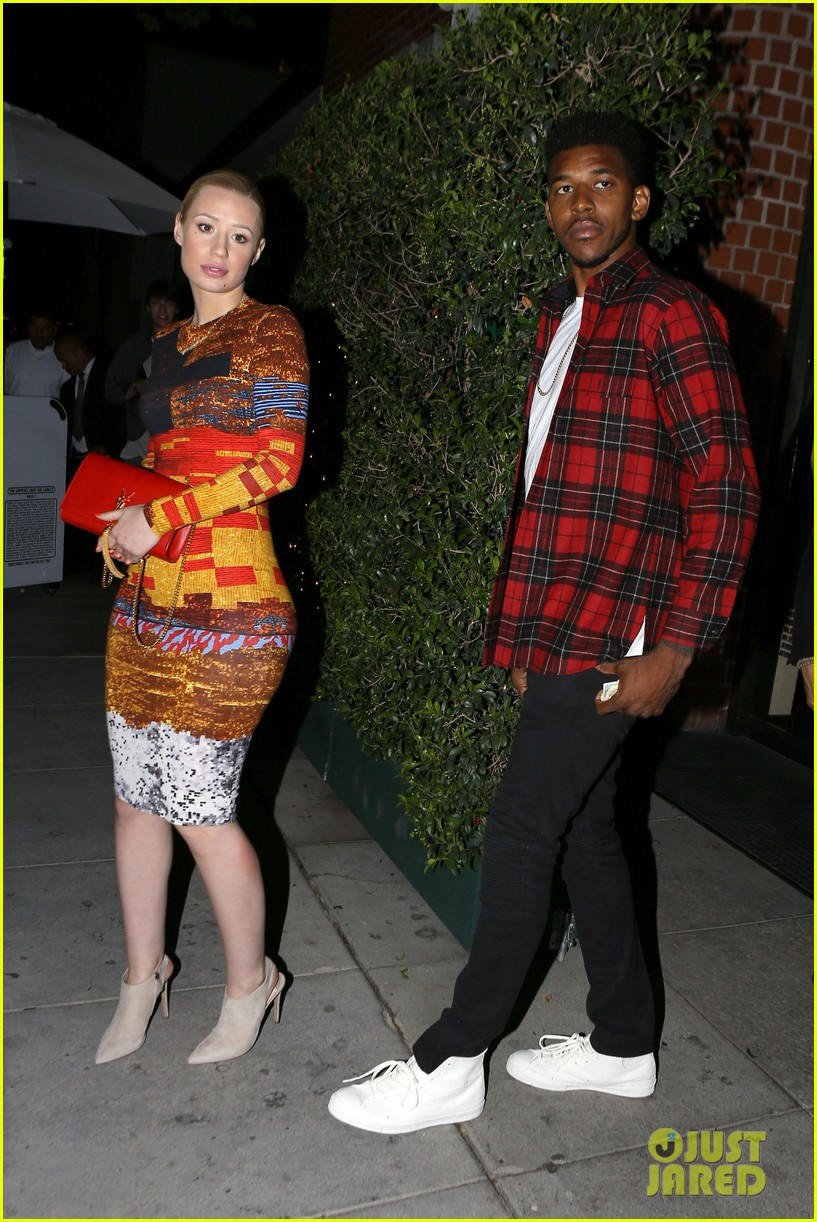 iggy azalea nick young date night on the town 03