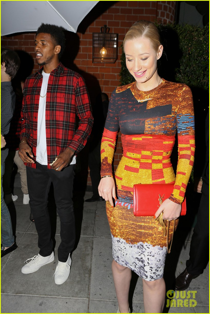 iggy azalea nick young date night on the town 053179627