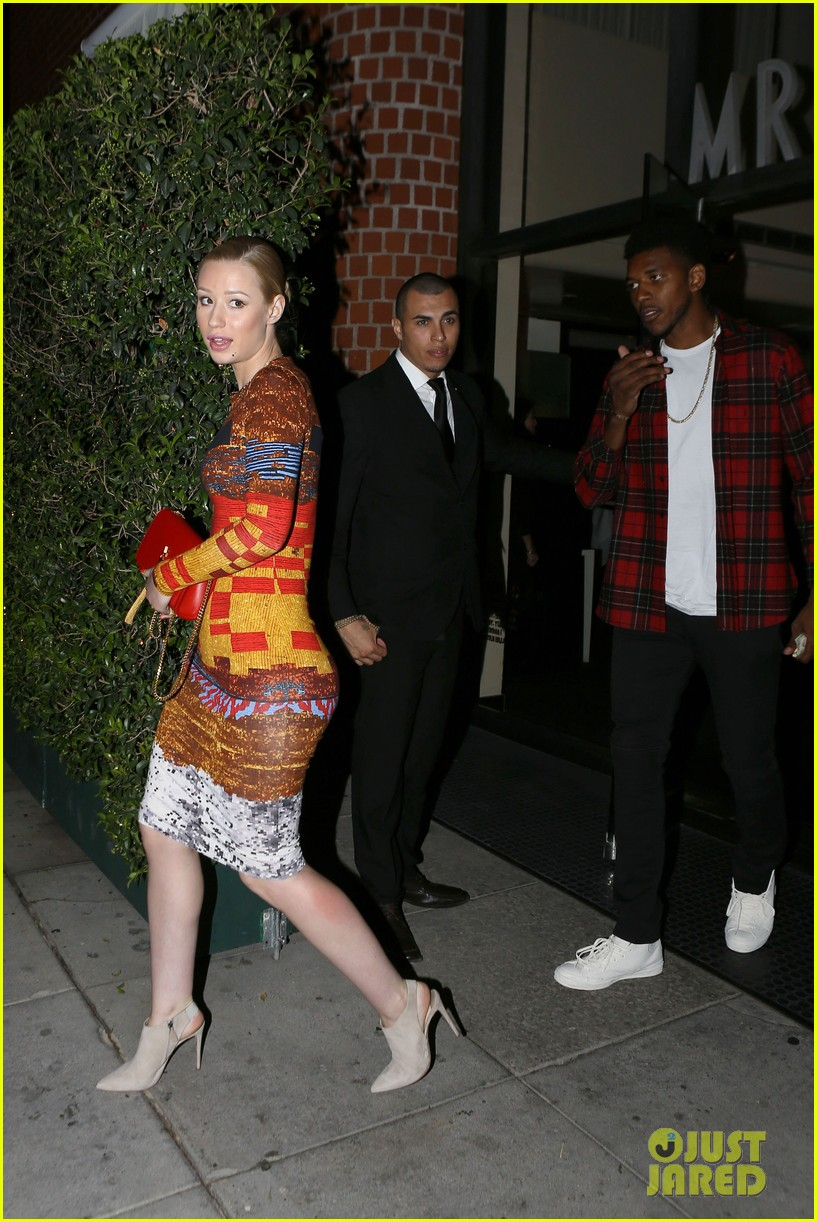 iggy azalea nick young date night on the town 09