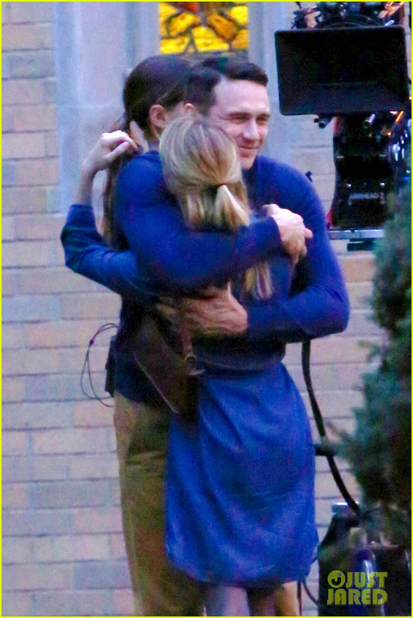 james franco emma roberts kiss park michael filming 02