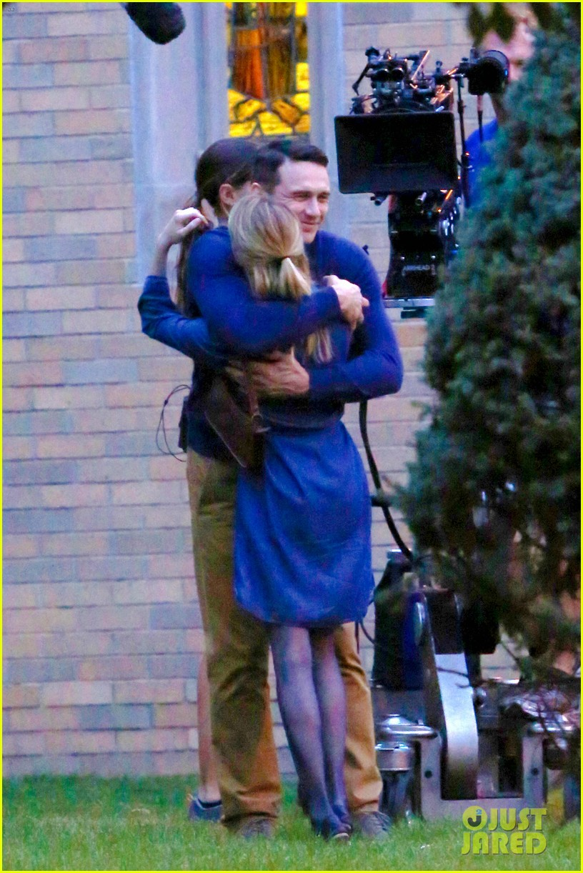 james franco emma roberts kiss park michael filming 30