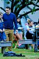 james franco emma roberts kiss park michael filming 28