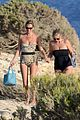 kate moss shows off body animal print bathing suit 07
