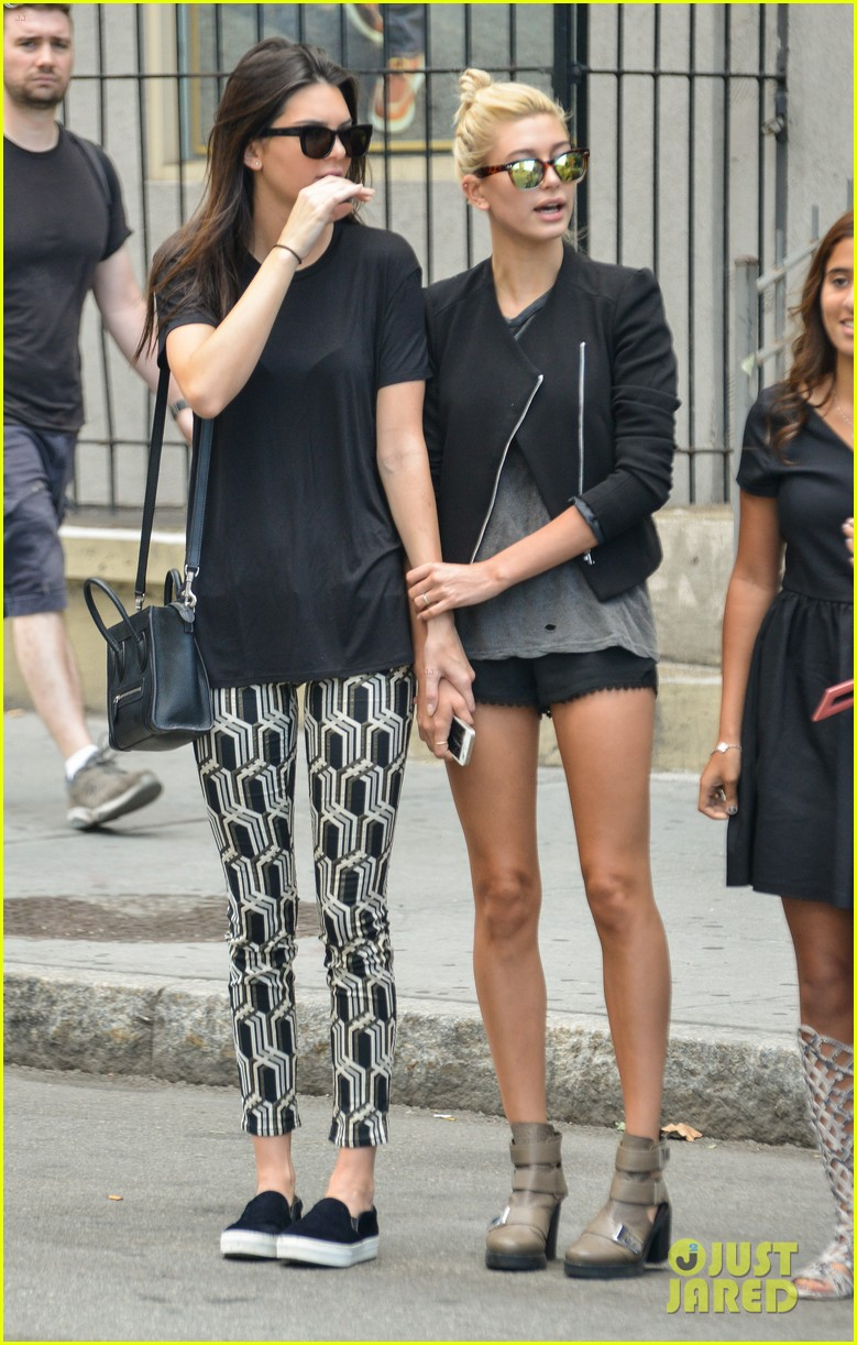 kendall jenner hailey baldwin cab just kendall now 12