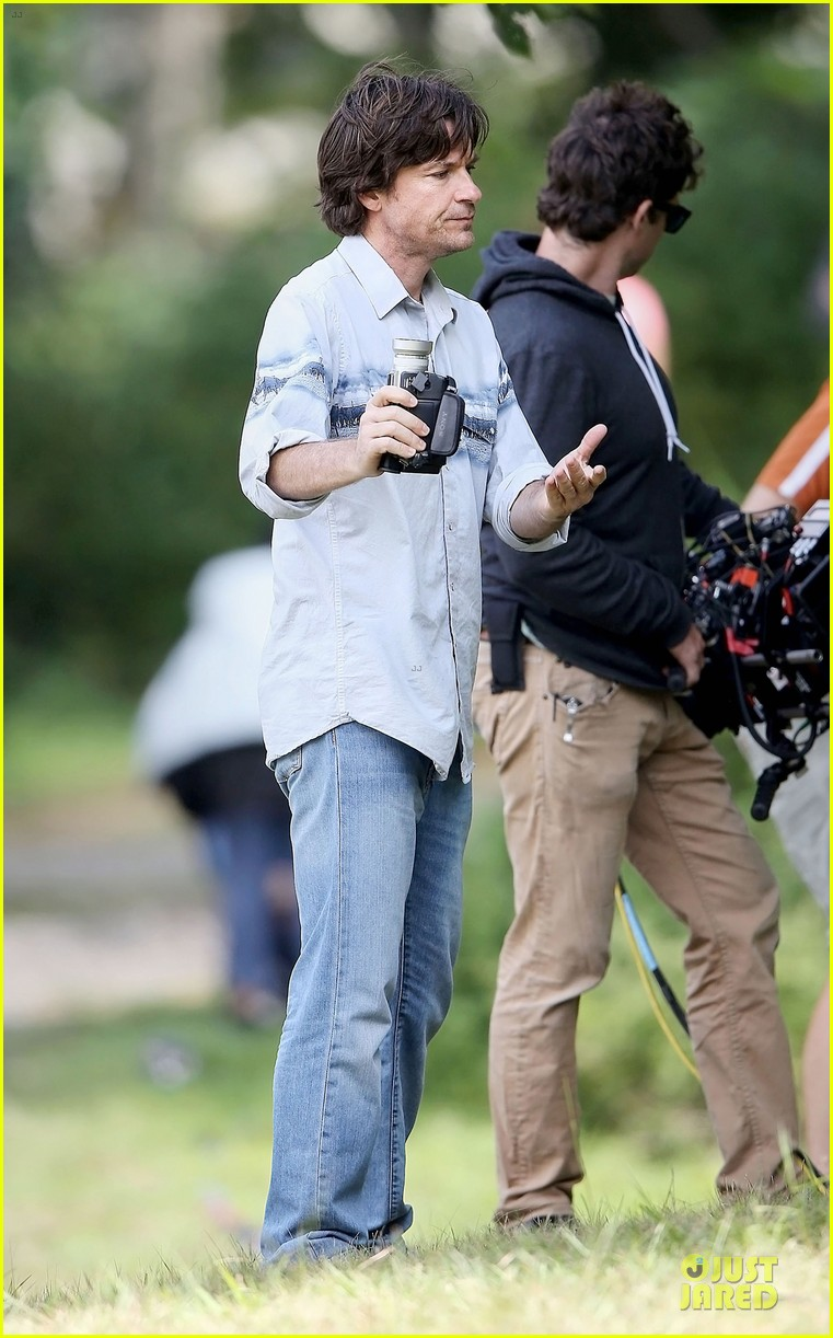 nicole kidman jason bateman wrap up week on family fang set 193177439