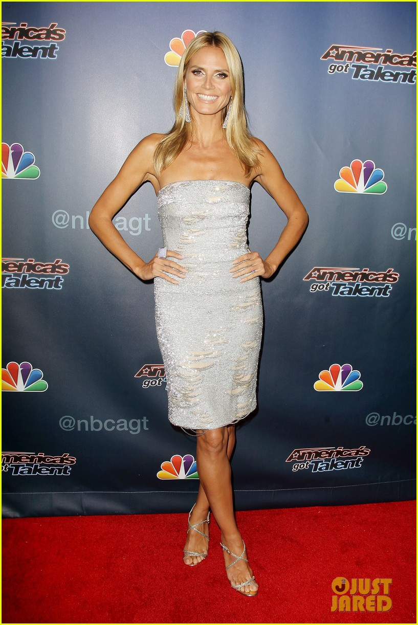 heidi klum keeps it busy in nyc before america's got talent quarter finals 22