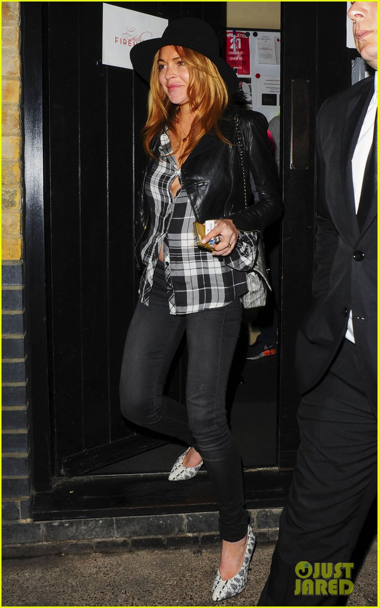 lindsay lohan quotes billy joel chiltern night out london 113182147