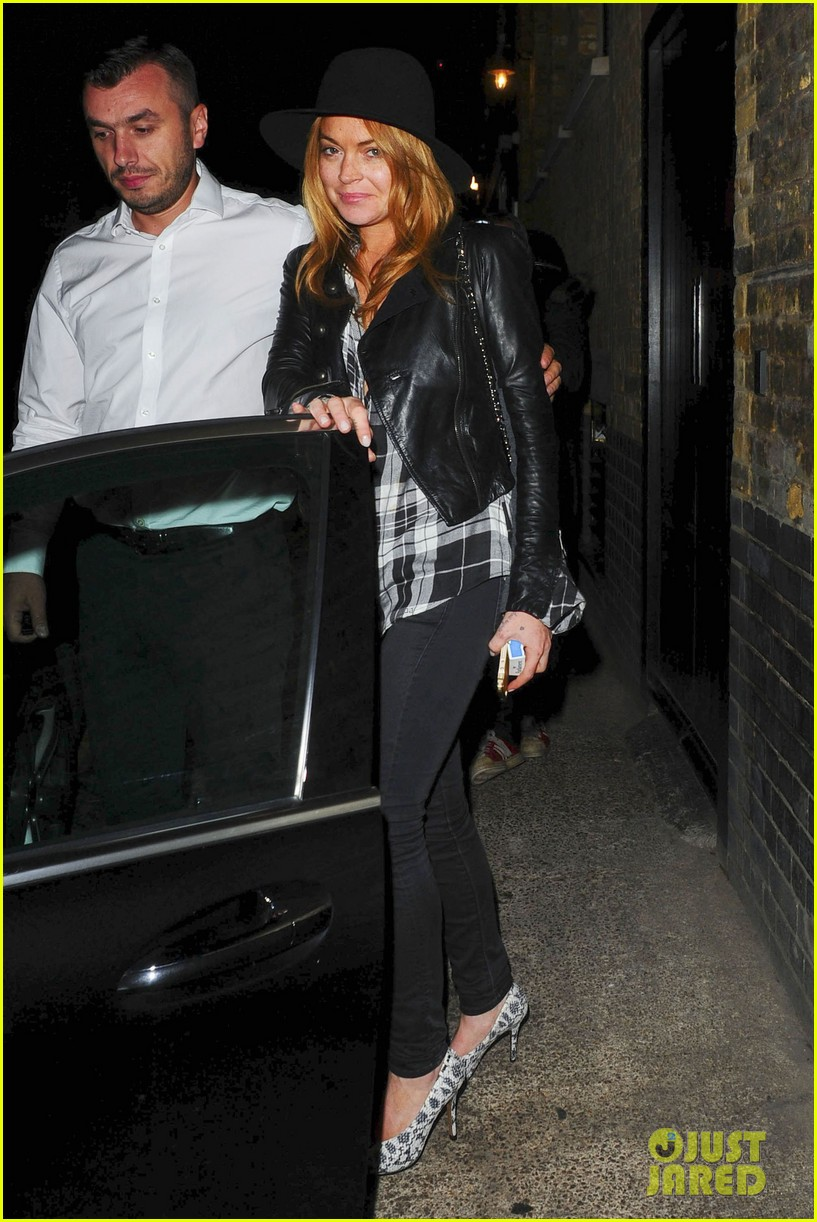 lindsay lohan quotes billy joel chiltern night out london 143182150