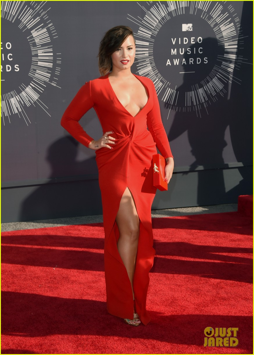 demi lovato red hot mtv vmas 013182455