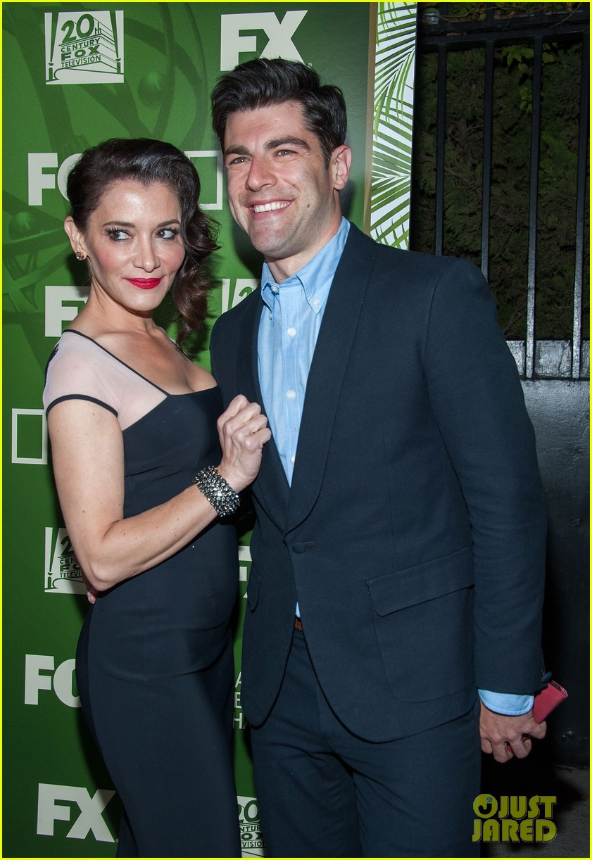 Max Greenfield And Wife
