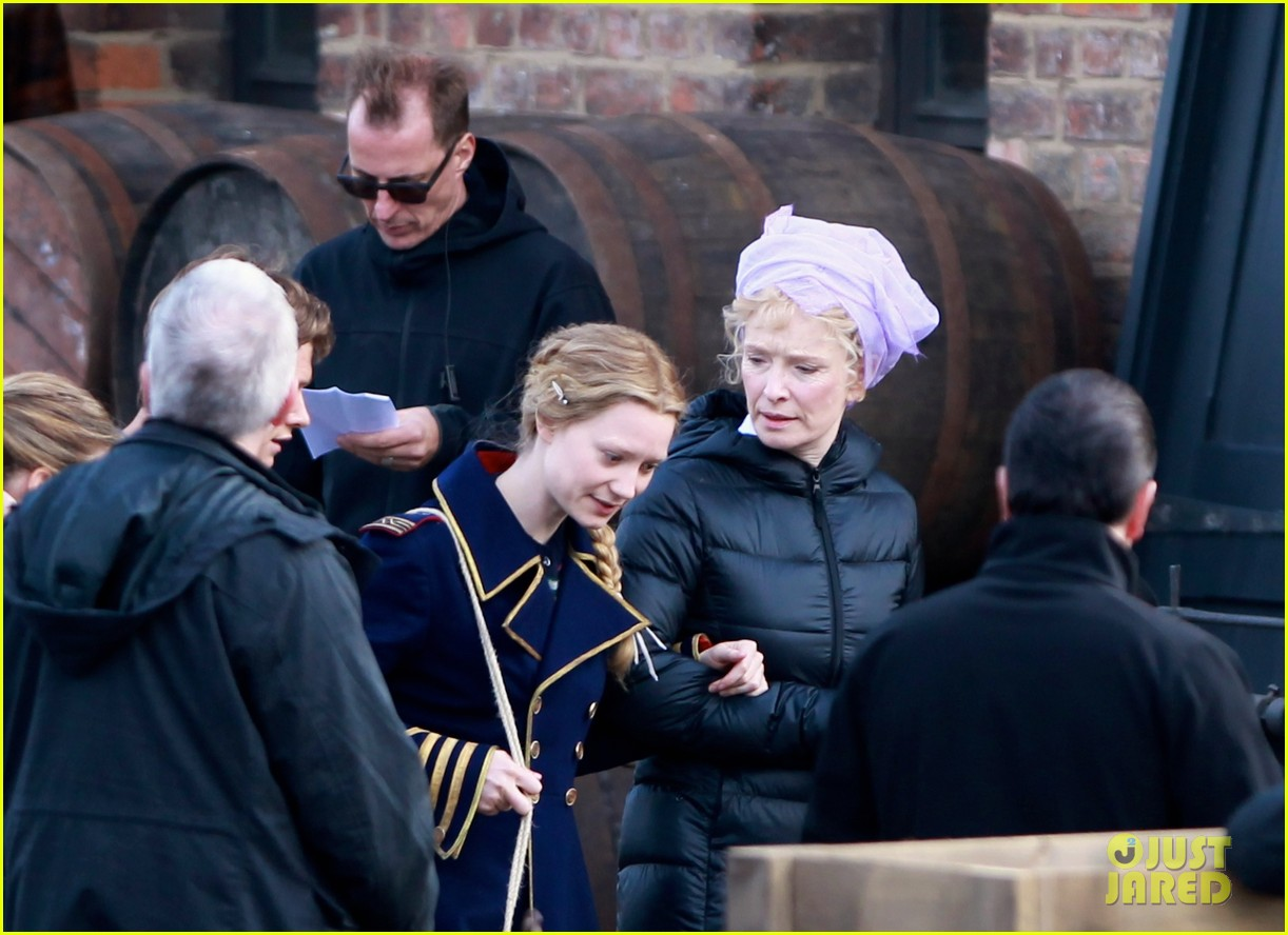 mia wasikowska captain blues coat looking glass 11