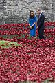 kate middleton prince william visit stunning ceramic poppy installation 07