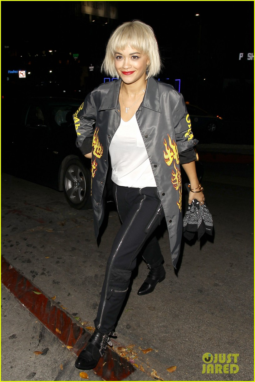 rita ora chateau marmont night out 083186702
