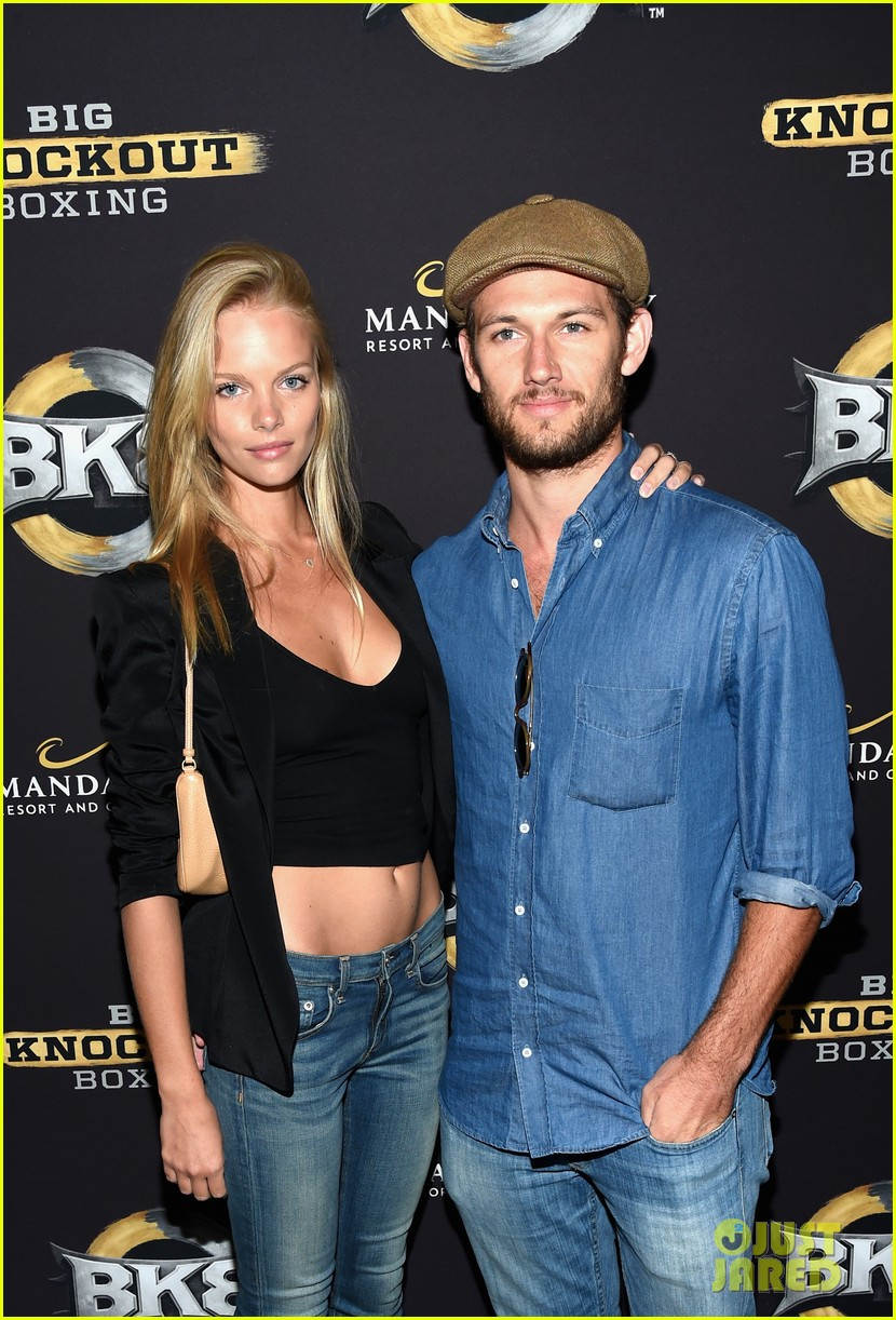 alex pettyfer marloes horst first red carpet appearance 11