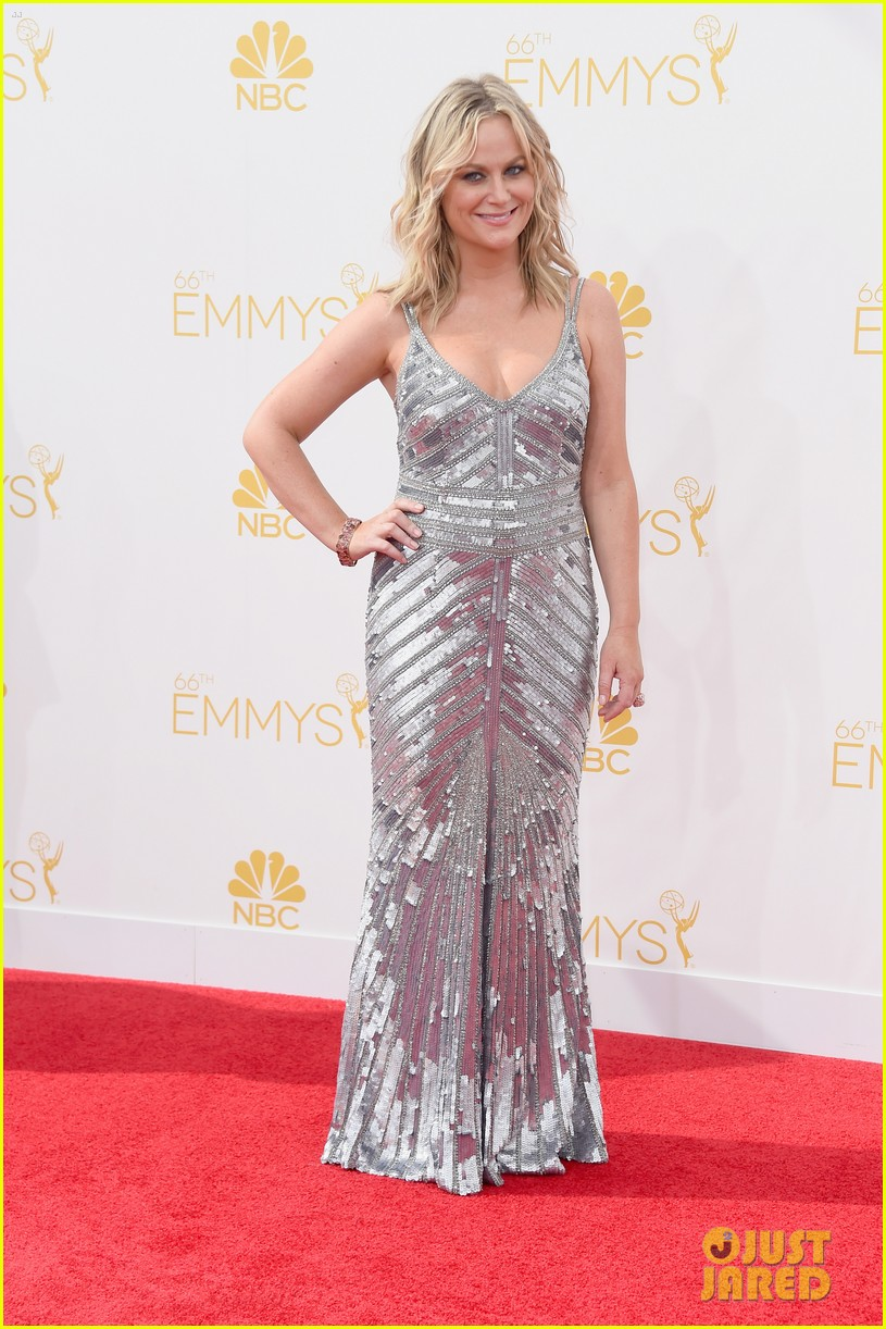 amy poehler emmys 2014 red carpet 04