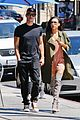 naya rivera ryan dorsey hold hands birds cafe 03