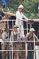 margot robbie begins filming tarzan with christoph waltz casper crump 03