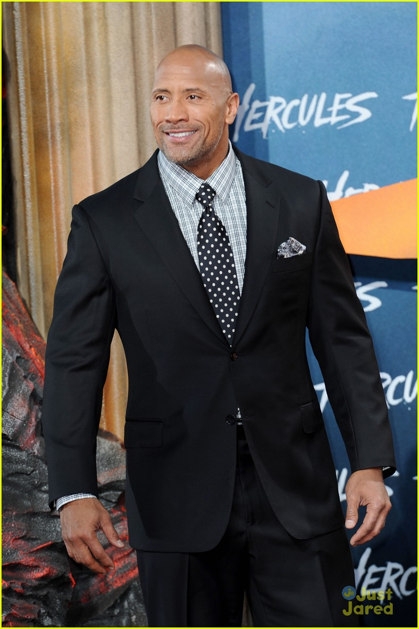 dwayne the rock johnson hercules berlin premiere 143180473