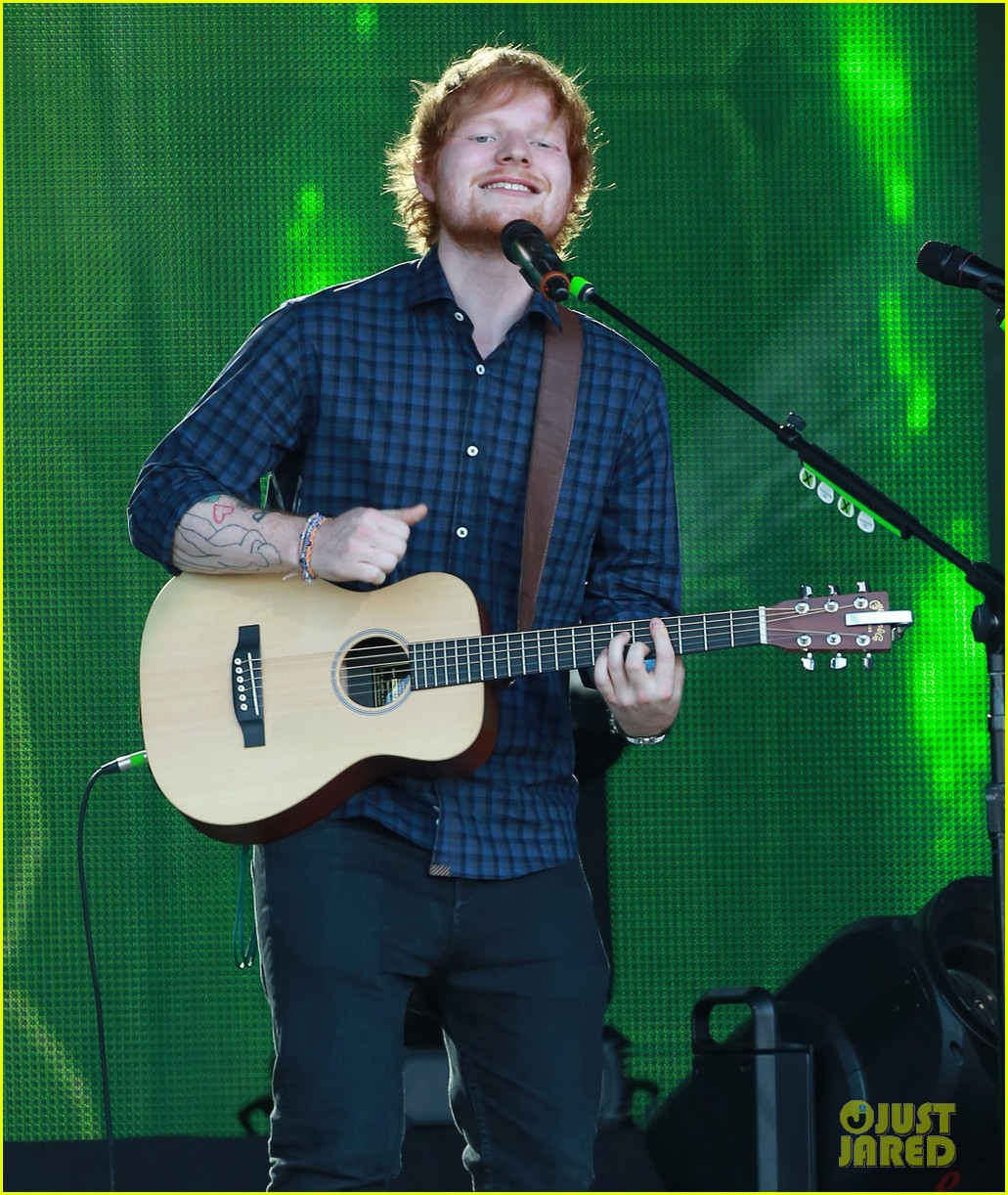 ed sheeran kimmel live performance 04