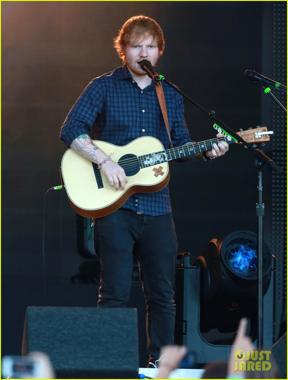 ed sheeran kimmel live performance 10