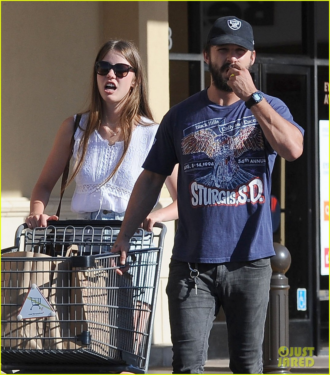 shia labeouf girlfriend mia goth lemonade lunch lovers 053186954