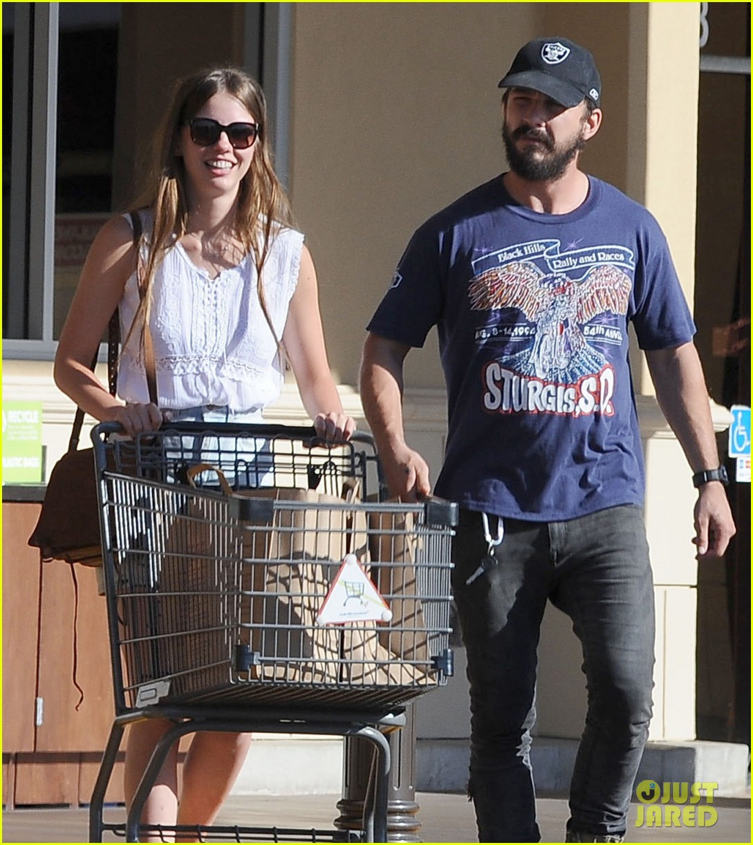 shia labeouf girlfriend mia goth lemonade lunch lovers 103186959