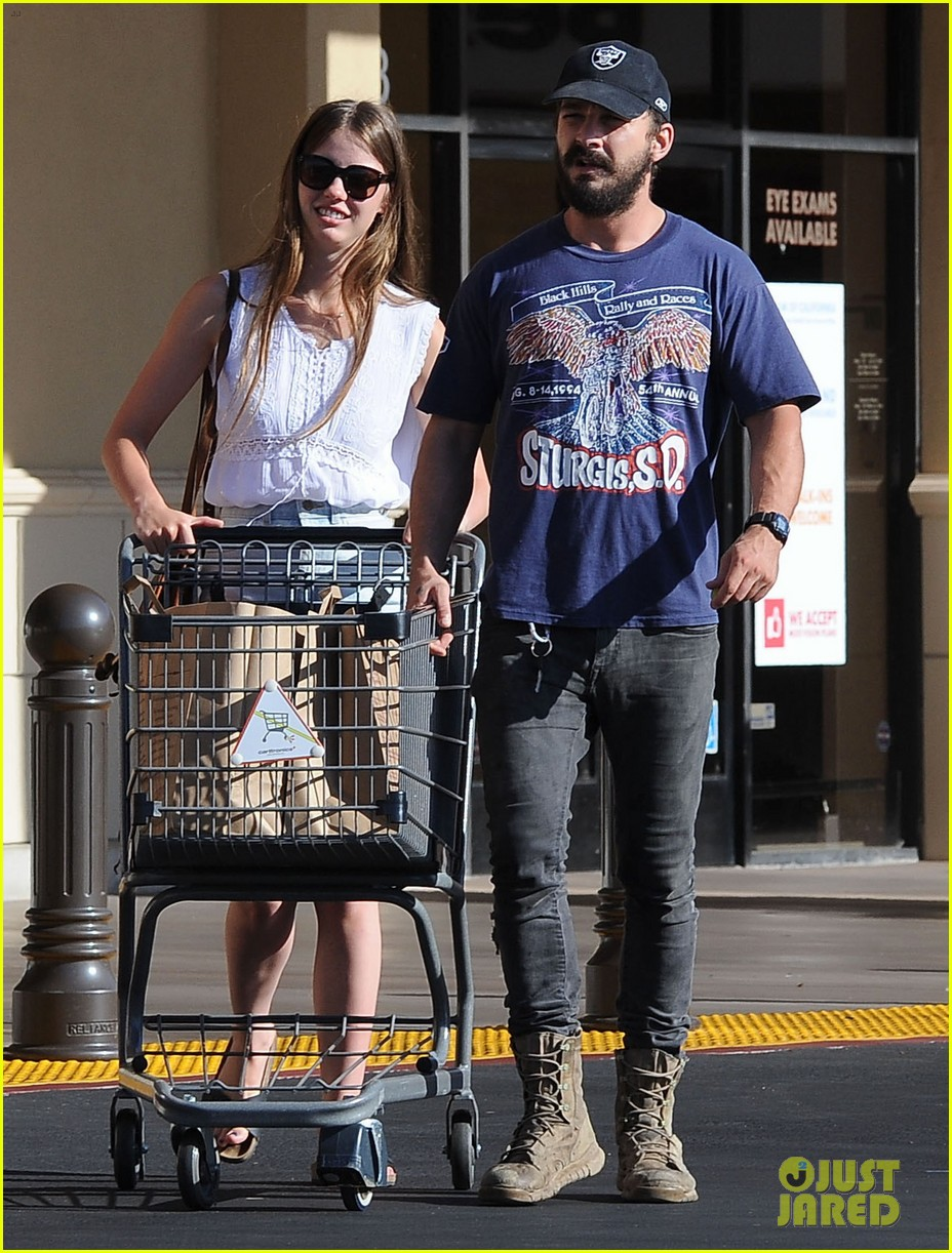 shia labeouf girlfriend mia goth lemonade lunch lovers 133186962