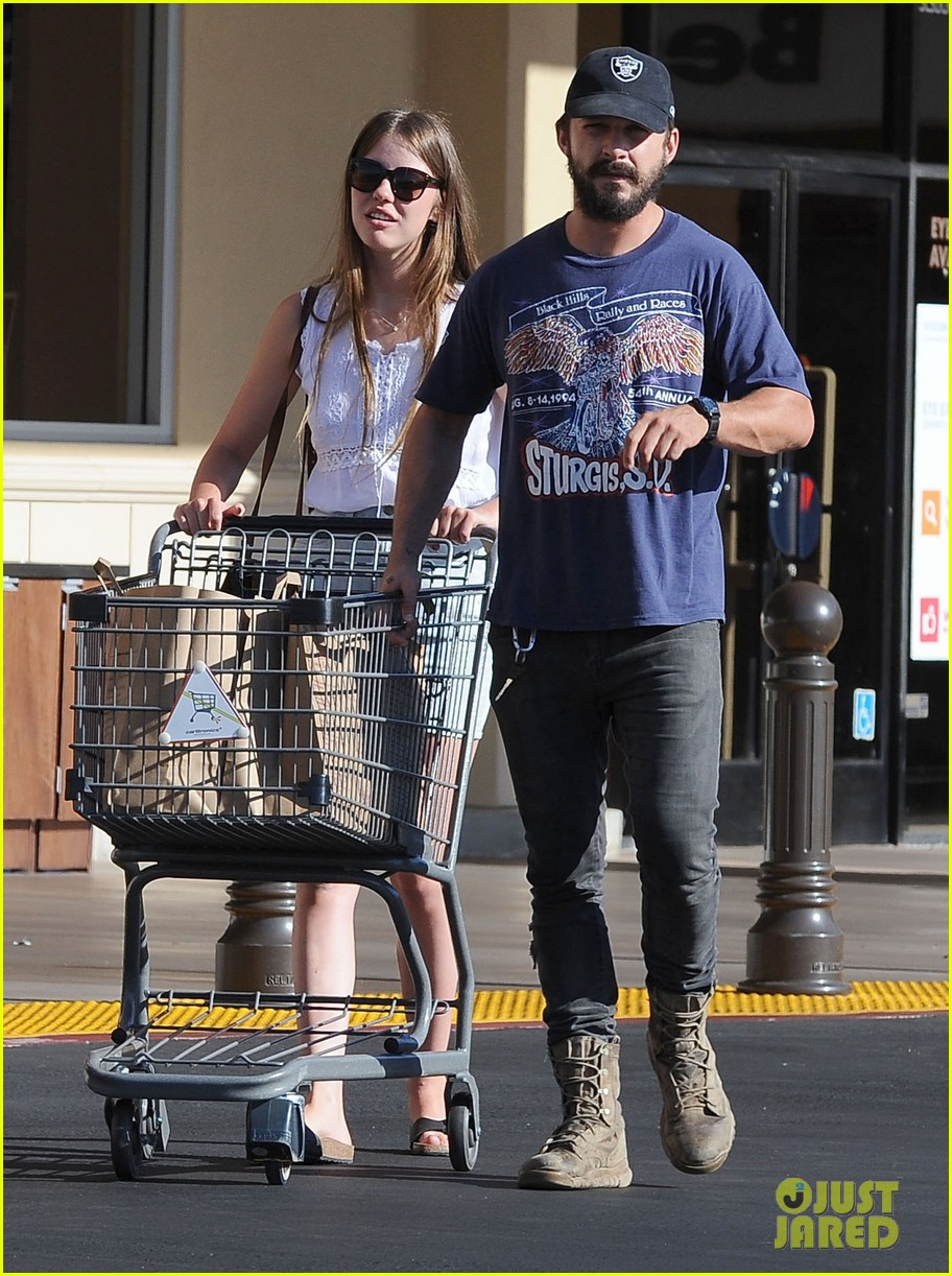 shia labeouf girlfriend mia goth lemonade lunch lovers 143186963
