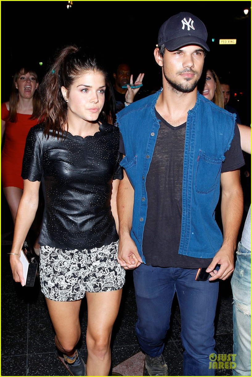 taylor lautner marie avgeropoulos strong hollywood 01