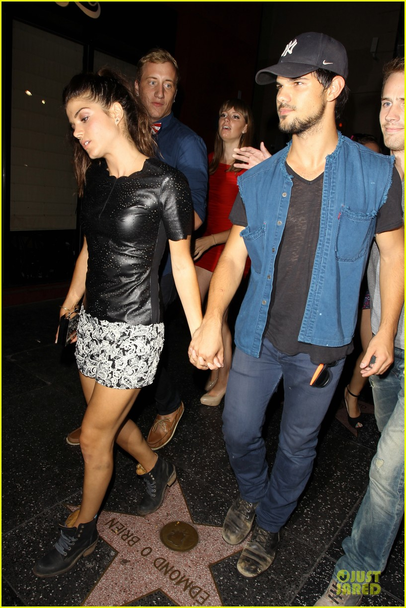 taylor lautner marie avgeropoulos strong hollywood 14