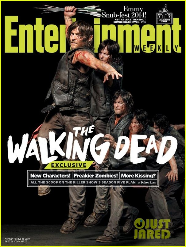 walking dead four new character magazine issues 04