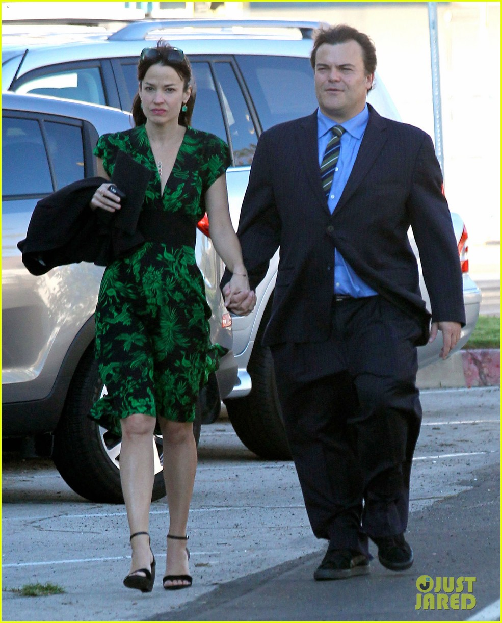 will ferrell jack black matt lebov wedding 023178093