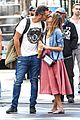 jessica alba cash warren pack on pda in nyc 05