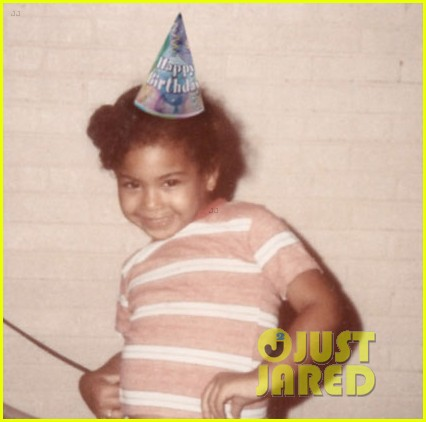 beyonce posts adorable throwback pic to celebrate 33 birthday 01
