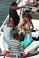 bikini clad beyonce jay z vacation with their families 17