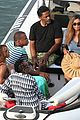 bikini clad beyonce jay z vacation with their families 20