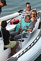 bikini clad beyonce jay z vacation with their families 23