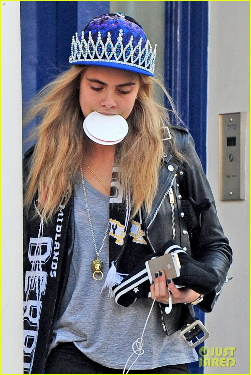 Full Sized Photo of cara delevingne paper towns audition ...