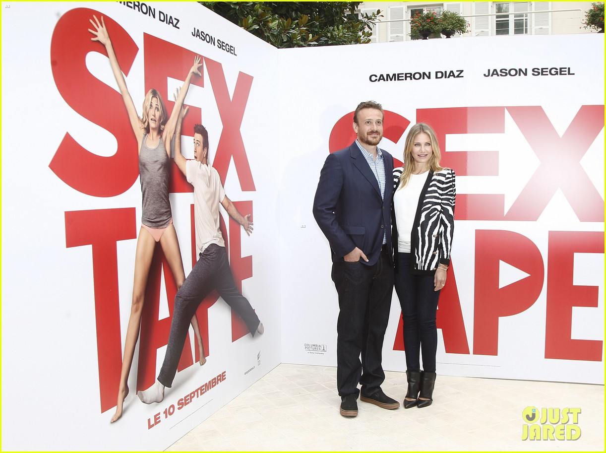 cameron diaz jason segel take their sex tape to paris 013189055