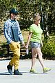 hayden christensen asys goodbye mom hike together 01
