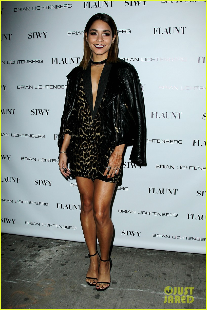 vanessa hdugens flaunt magazine party 01