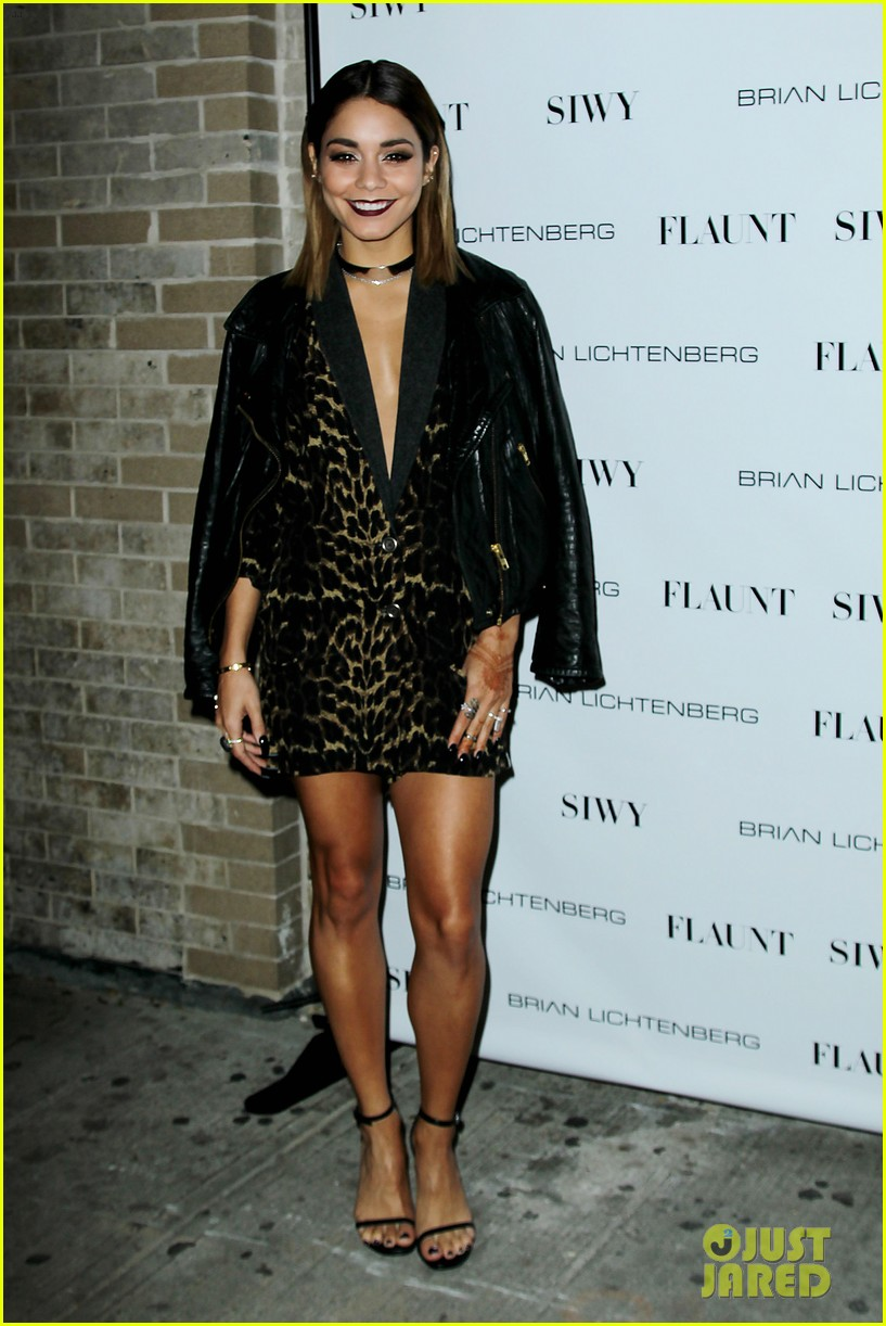vanessa hdugens flaunt magazine party 11