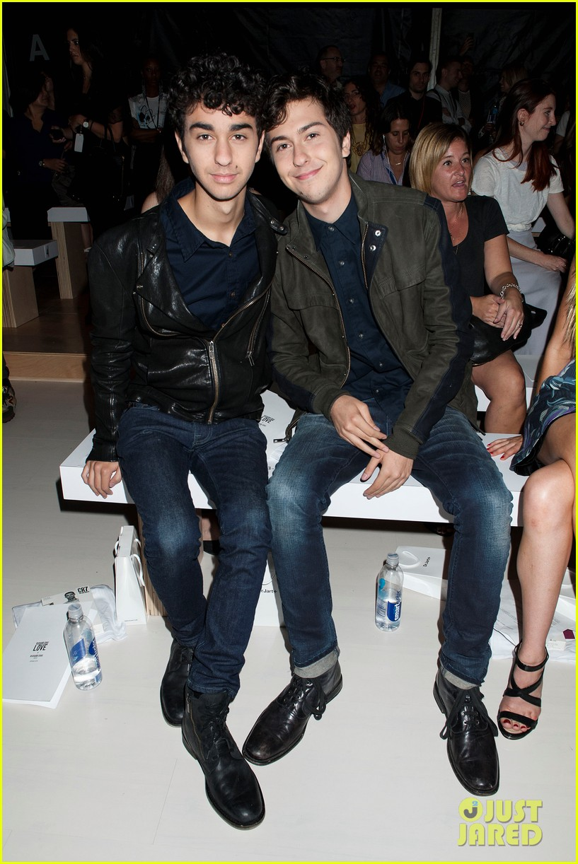 nick joe jonas richard chai fashion show 10