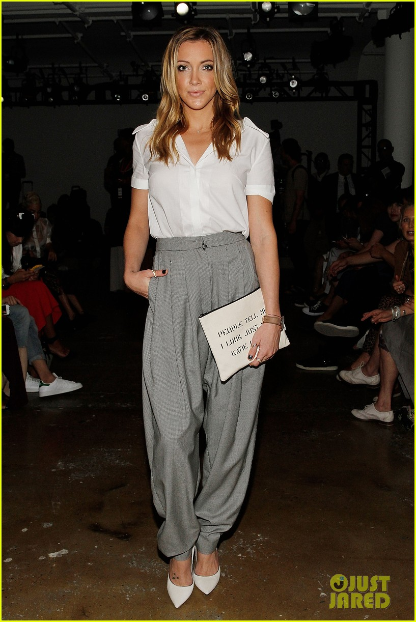 katie cassidy jessica lowndes houghton fashion show 2014 03