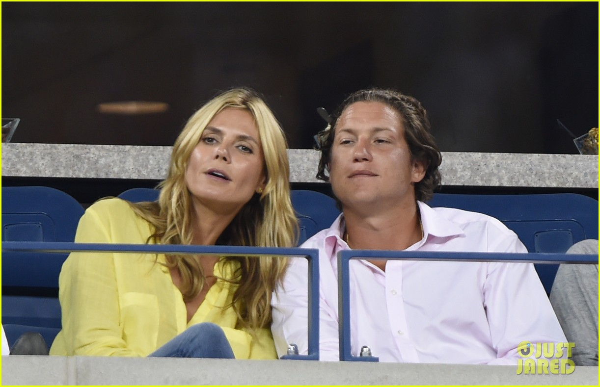 mary kate olsen heidi klum bring they significant others to us open 07