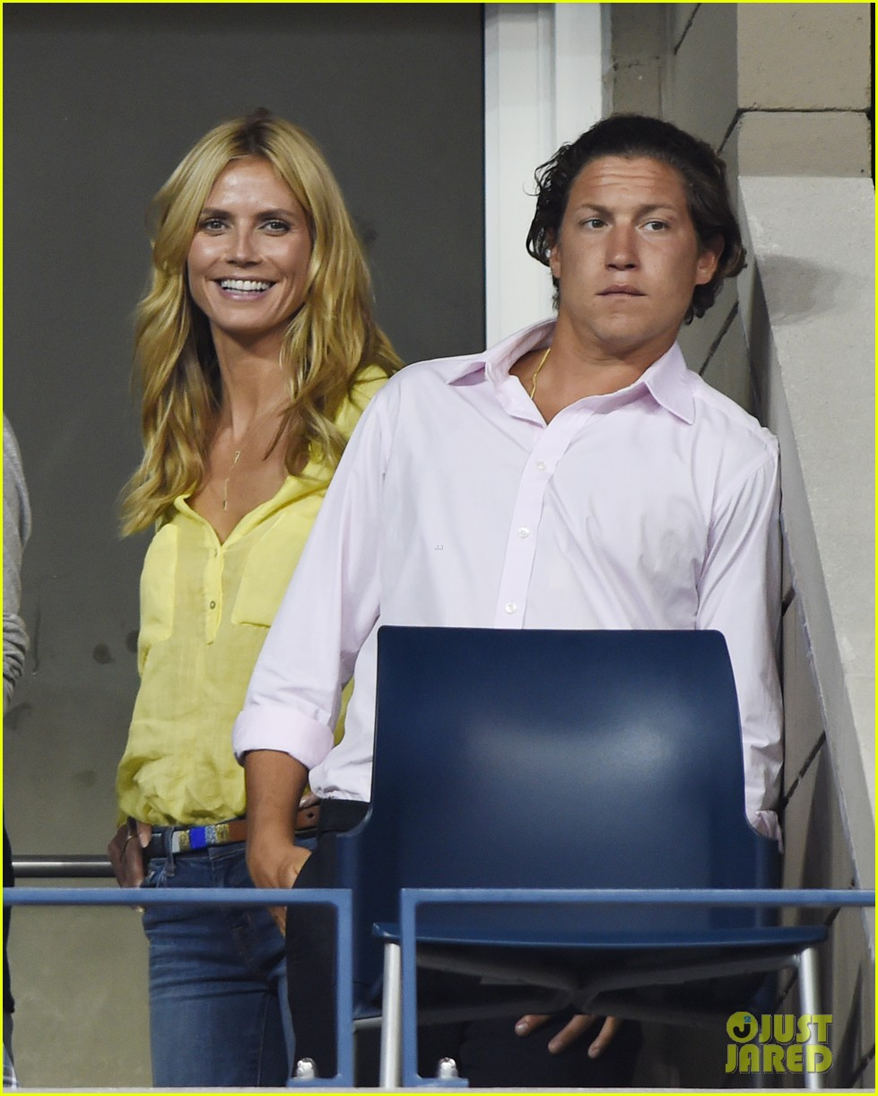 mary kate olsen heidi klum bring they significant others to us open 133187839