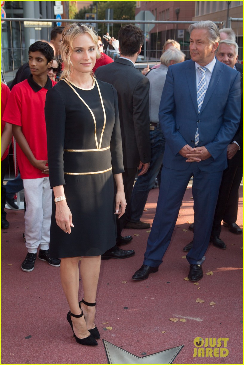diane kruger geta a star on berlins walk of fame 14