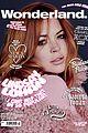 lindsay lohan pink for wonderland magazine 08
