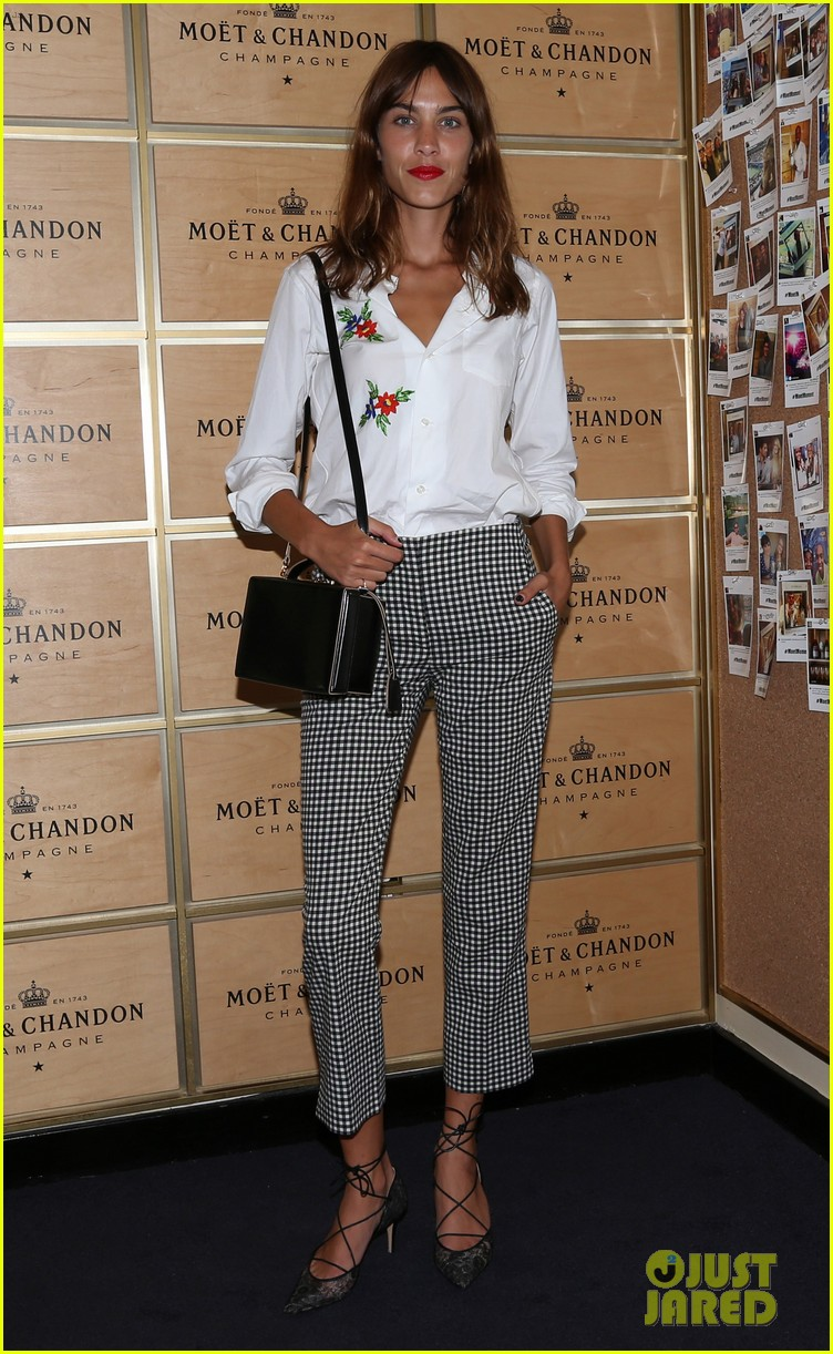 jesse metcalfe cara santana watch the us open with moet 043188899