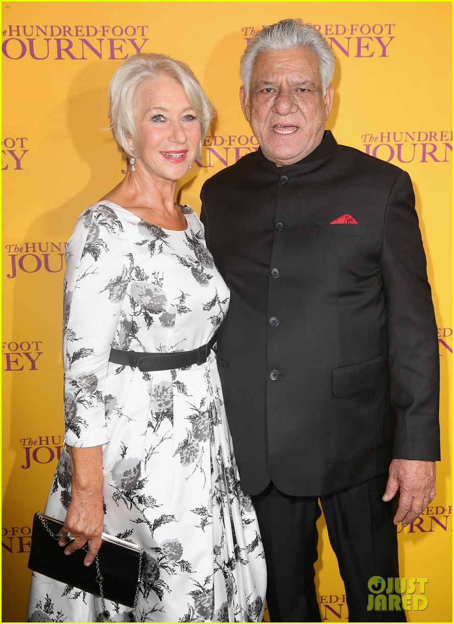 helen mirren joins co stars at hundred foot journey uk gala 103188983